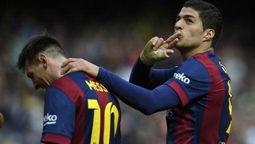 سواريز وميسي يقودان هجوم برشلونة أمام سوسيداد بكأس إسبانيا