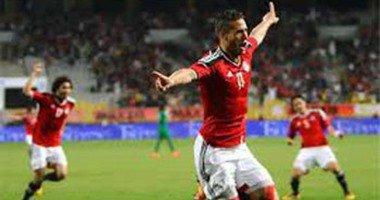 """رمضان صبحى يستعد للمغرب بـ""""الوقوف على الكرة"""" فى التدريبات"""