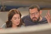 عمرو يوسف وكندة علوش يحتفلان بزفافهما في أسوان