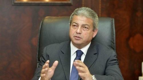 وزير الرياضة ينقل للفراعنة تهنئة الرئيس السيسي بعد الفوز على المغرب