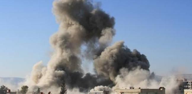 نجاح مدرعة شرطة في تفادي عبوة ناسفه في شمال سيناء