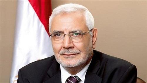 أبو الفتوح يتلقى تعليمات من «التنظيم الدولي» لإثارة الفوضى