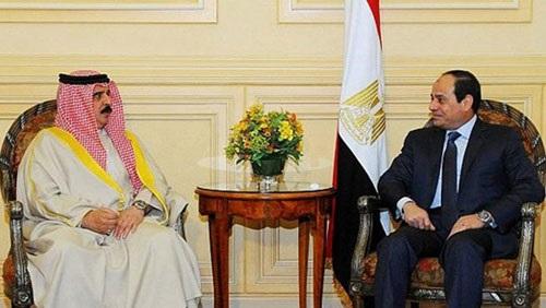 الرئيس السيسي يوجه رسالة شفهية لملك البحرين ينقلها شكرى