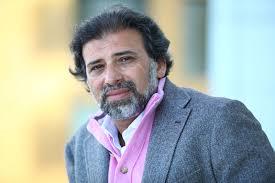 خالد يوسف: الأقراص تخص زوجتي وأسافر بها باستمرار