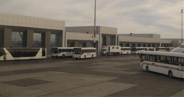 الوفد الروسى يتفقد أسوار مطار الغردقة
