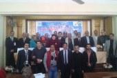 بالصور  مؤتمر ( أبدا لن تسقط مصر) بمجلس مدينة أبوتيج