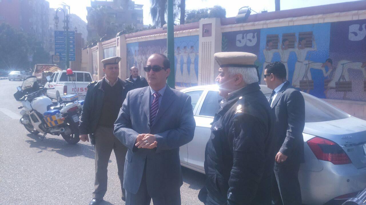 مساعد وزير الداخلية للصعيد يتابع مرور أسيوط