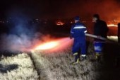 حريق هائل في زراعات الموز بالأقصر