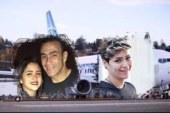 أسرة الحضرى تعود للقاهرة ضمن ركاب طائرة أسوان التى هبطت اضطراريا فى الأقصر