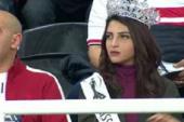 """رد """"أيسل خالد"""" ملكة جمال آسيا والمحيط الهادى على كابتن مدحت شلبى؟"""