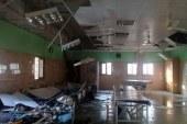 """بالصور.. انهيار سقف """"الصحة النفسية"""" بطنطا على المرضى بعد شهر من ترميمه"""