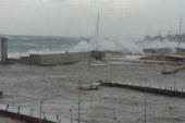 توقف حركة الملاحة بكفر الشيخ بسبب الأمطار