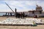 الداخلية: إحباط تهريب 3.5 طن حشيش على متن مركب صيد