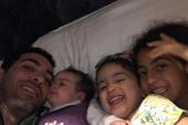 أبو تريكة يستقبل قرار التحفظ على أمواله بـ«ضحكة» مع بناته
