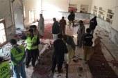 مقتل 25 وإصابة 100 إثر هجوم انتحاري على مسجد في باكستان