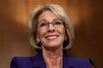 تعليق لوزيرة التعليم الأمريكية بعد ترشيحها رسميًا