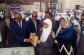وكيل أدارة أسيوط التعلمية يكرم مدرسة راشاد بعرب المدابغ باسيوط