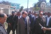 مساعد الوزير لوسط الصعيد في زيارة ميدانية لقرية البلابيش بسوهاج