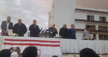 مرتضى: «مفيش دكر في مصر يقدر ينزل الزمالك درجة تانية»