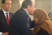 الأم المثالية ببنى سويف: قلت للرئيس ربنا يبارك فيك ويحفظك لمصر