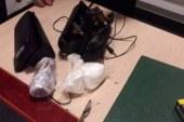ضبط راكب بالمطار حاول تهريب كمية من الكوكايين والمرجوانا داخل سماعة