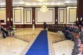 السيسي يلتقى قادة وضباط وجنود القوات المسلحة.. ويؤكد: مصر لا تنسى شهداءها