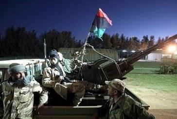 """توقف الاشتباكات بمحيط مصرف """"الأمان"""" وسط طرابلس الليبية"""
