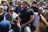 جثمان والد خالد سليم يتجه لمثواه الأخير لدفنه بمقابر الإمام الشافعى