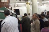 تشييع جثمان والد زوجة محمد صلاح ببسيون فى الغربية