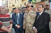 محافظ الاسكندرية وقائد المنطقة الشمالية يتفقدوا الانتهاء من اعمال الترميم قبل بدء قداس عيد القيامة