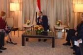 السيسى يلتقى رئيس لجنة اعتمادات الدفاع بالكونجرس وكريستين لاجارد