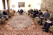 قطر تتصدر مباحثات السيسي ووزير خارجية ألمانيا