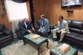 بالصور… مساعد وزير الداخلية يزور محافظ الوادي الجديد خلال جولة امنية