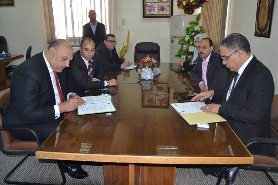 بروتوكول تعاون بين معهد جنوب مصر للأورام بجامعة أسيوط والنقابة العامة للمحامين