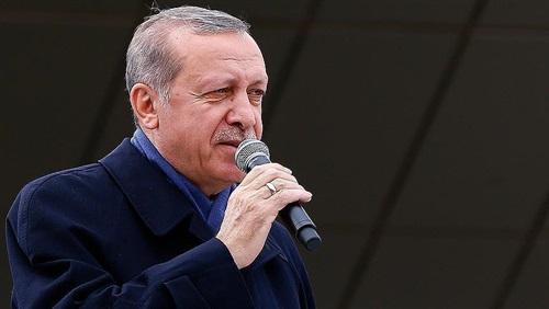 أردوغان: تعرضنا لحملة صليبية لإفشال الاستفتاء