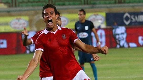سعد سمير يحرز الهدف الأول للأهلى في شباب الشرقية بالدقيقة 44