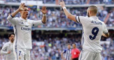 ريال مدريد يحرز الهدف الاول فى كلاسيكو الارض