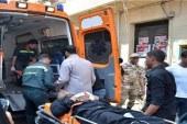 إصابة مجندين جراء استهداف مدرعة شرطة بالعريش