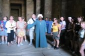 معبد دندرة يستقبل 1500 زائر بالتزامن مع احتفالات شم النسيم