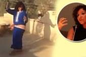 """بالفيديو.. منى برنس تهاجم رئيس جامعة السويس بـ""""وصلة رقص"""""""
