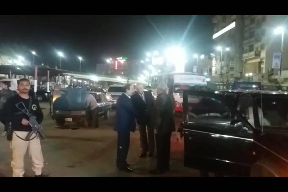 مساعد وزير الداخلية يقود حملة مرورية بأسيوط