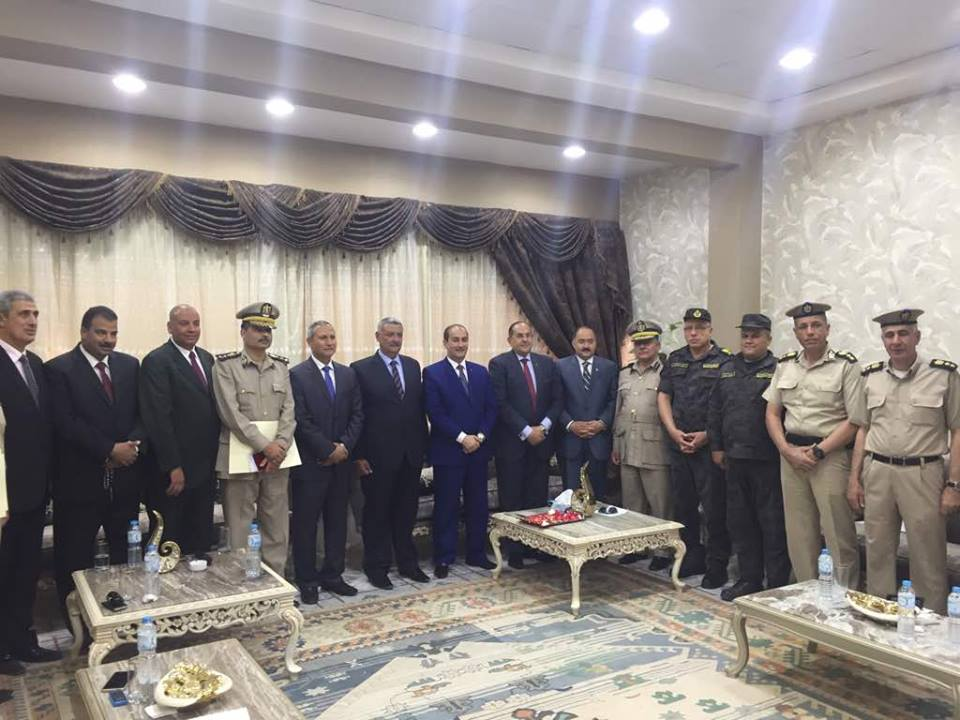 مساعد وزير الداخلية لوسط الصعيد يشهد حفل تخرج معهد أمناء الشرطة بسوهاج