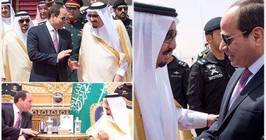 أسماء الوفد المرافق للسيسي في الرياض