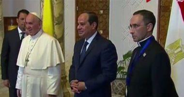 """بابا الفاتيكان يدعو للمصريين بالسلام والازدهار.. ويختم كلمته بـ""""تحيا مصر"""""""