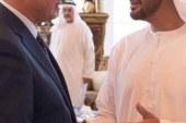 ولى عهد أبو ظبى يكرّم محمود الخطيب فى الإمارات