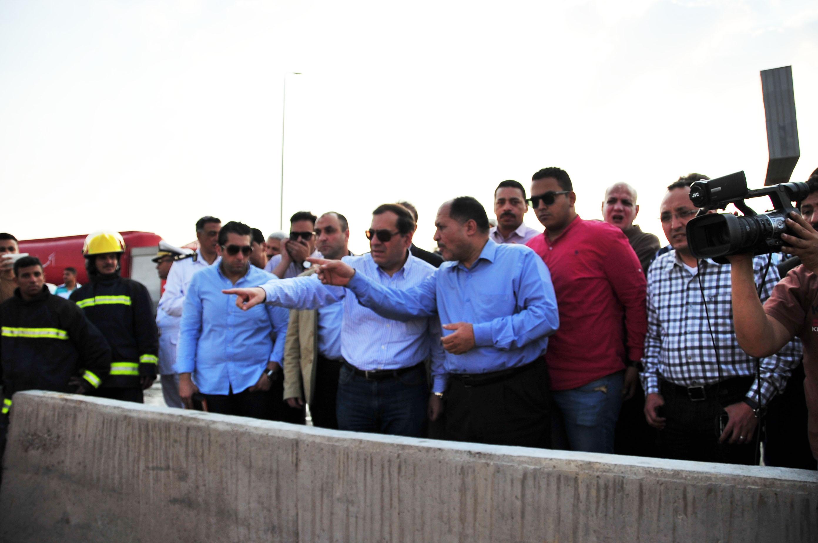 """وزير البترول يفتتح محطة كهرباء """"إيثيدكو"""" باستثمارات 98 مليون دولار"""