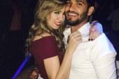 صالح جمعة لاعب الأهلى يحتفل بخطوبته