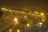 غلق طريق «الخارجة – أسيوط» لسوء الأحوال الجوية