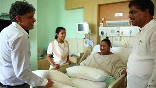 وزير صحة الهند يهاجم شقيقة أسمن امرأة في العالم: ما فعلته أمر بغيض