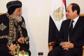 البابا للسيسي: الإرهاب لن ينجح في شق صف المصريين